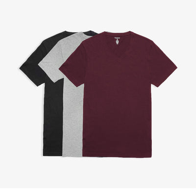 V-Neck Bottle of Red Tees 3pk
