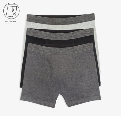 Open Fly Boxer Briefs 3pk