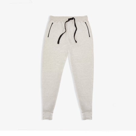 9ea3f6515 Oatmeal Heather French Terry Zip Joggers