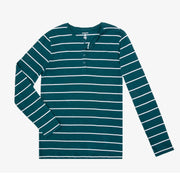 Reflecting Pond Stripe Henley