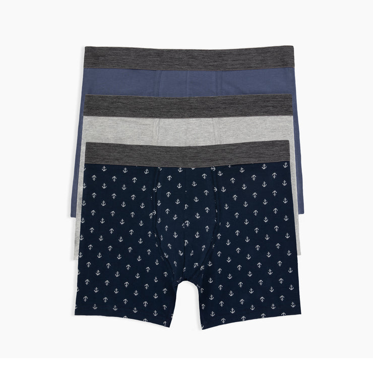Smooth Sailing Boxer Briefs 3pk