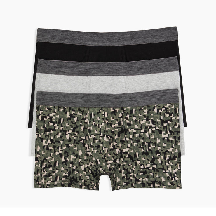 Digital Camo Trunks 3pk