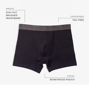 Cardinal Heather Boxer Briefs 3pk