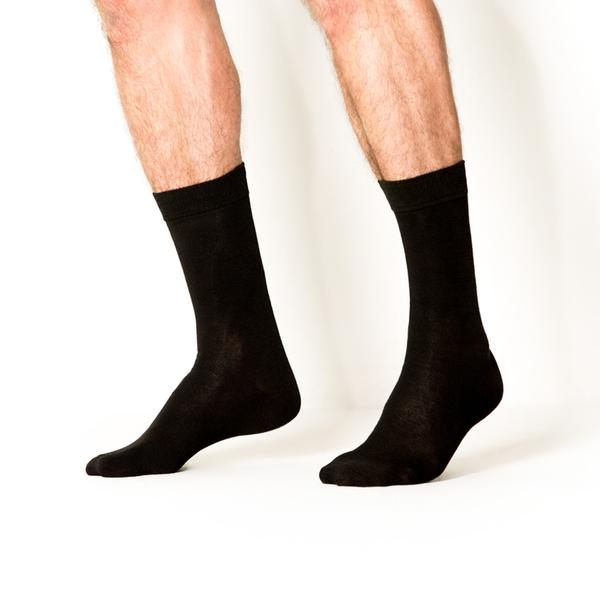 4pk Line Em Up Dress Socks