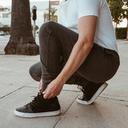 Charcoal Lightweight Jersey Joggers