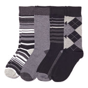 4pk Dark Classic Fashion Socks