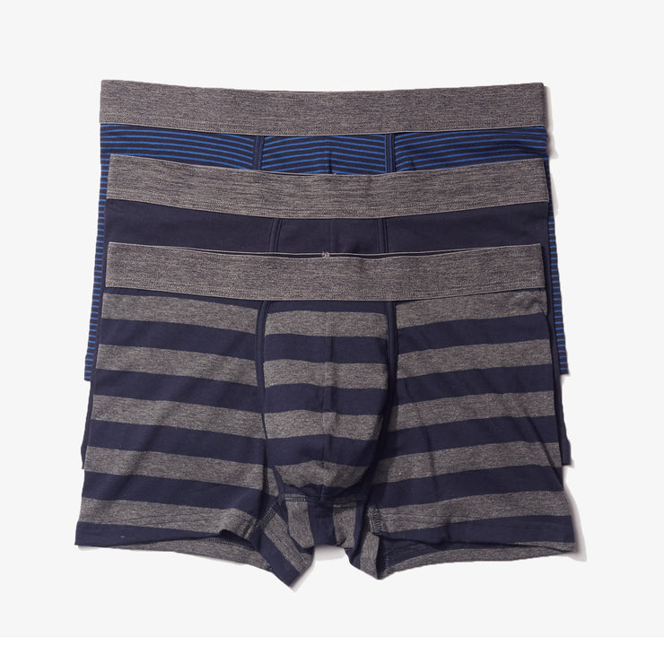 Blue Stripe Trunks 3pk