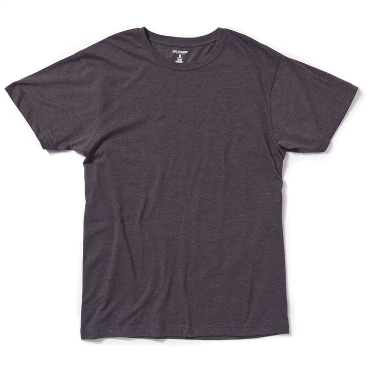 Single Crew-Neck Charcoal Heather