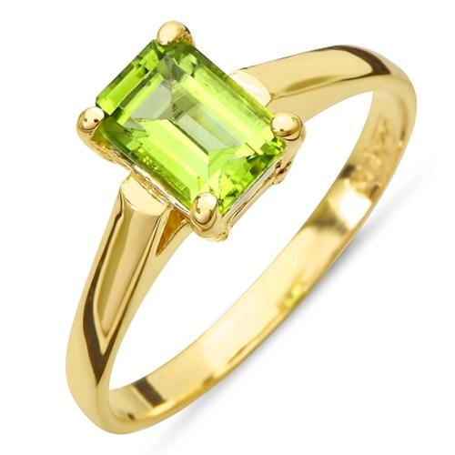 August's primary birthstone is peridot