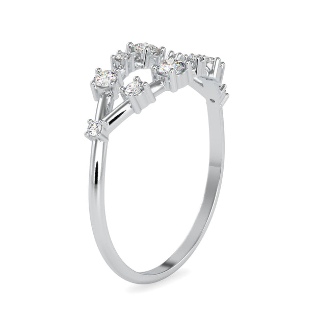 0.25 Carat Diamond 14K White Gold Ring - Fashion Strada