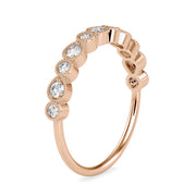 0.29 Carat Diamond 14K Rose Gold Ring - Fashion Strada
