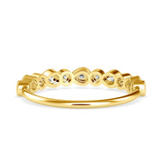 0.29 Carat Diamond 14K Yellow Gold Ring - Fashion Strada
