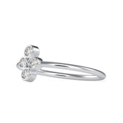 0.12 Carat Diamond 14K White Gold Ring - Fashion Strada