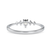 0.18 Carat Diamond 14K White Gold Ring - Fashion Strada