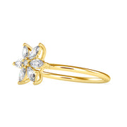0.32 Carat Diamond 14K Yellow Gold Ring - Fashion Strada
