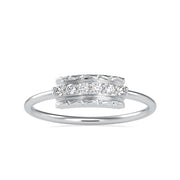 0.08 Carat Diamond 14K White Gold Ring - Fashion Strada