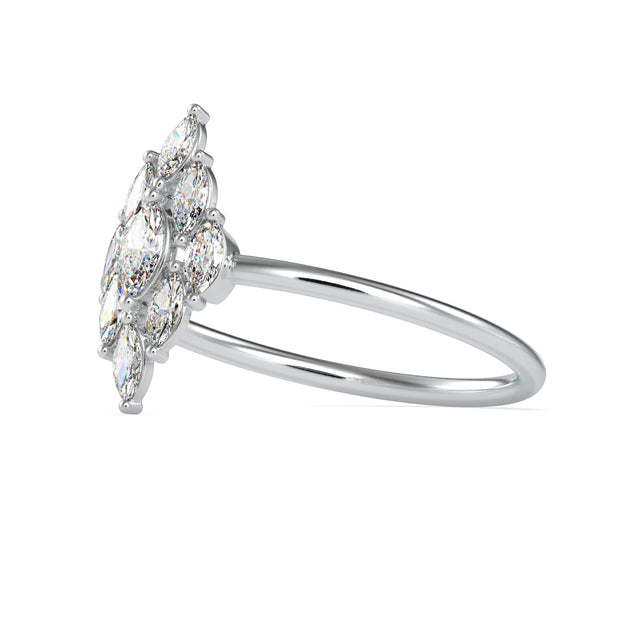 0.29 Carat Diamond 14K White Gold Ring - Fashion Strada