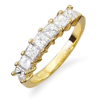 14K Womens Diamond Wedding Band - Fashion Strada