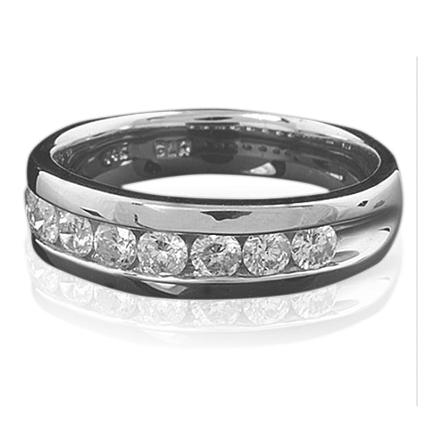 14K Mens Round Diamond Designers Ring - Fashion Strada