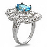 14K Topaz and Diamond Ring - Fashion Strada