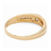 14K Mens Designers Diamond Ring - Fashion Strada