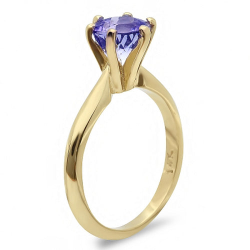 14K Tanzanite Ring - Fashion Strada