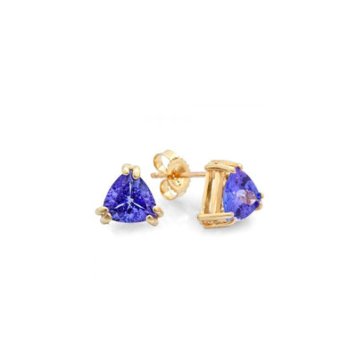 14K Tanzanite Earrings - Fashion Strada
