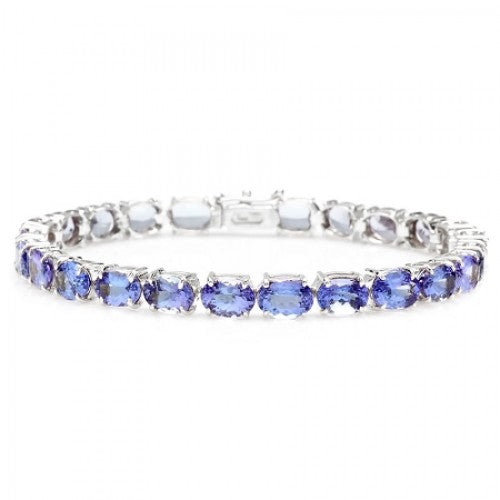 14K Tanzanite Bracelet - Fashion Strada