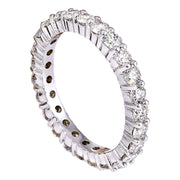 2.00 Carat Natural Diamond 14K Solid White Gold Ring - Fashion Strada