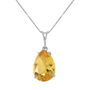 Ladies 14K Rose Gold Grass is Singing Blue Topaz Peridot Necklace - Fashion Strada