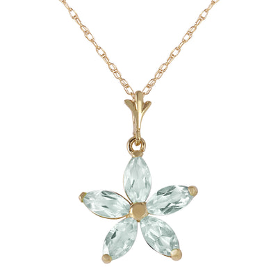 Ladies 14K Solid Gold One Rainy Day Green Amethyst Necklace - Fashion Strada