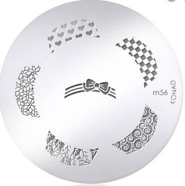Nail Art Stamping Plate - M56