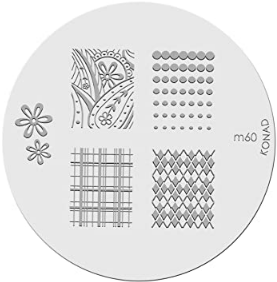 Nail Art Stamping Plate - M60