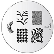 Nail Art Stamping Plate - M63