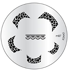 Nail Art Stamping Plate - M87