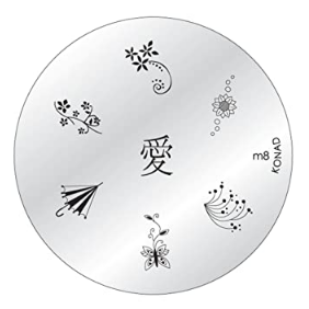 Nail Art Stamping Plate - M8