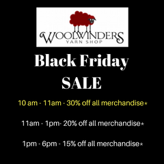 Get ready for our annual Black Friday sale!