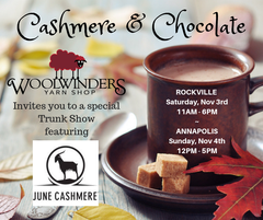 Cashmere & Chocolate - a June Cashmere Trunk Show!