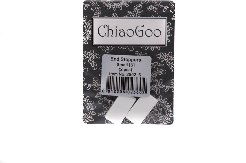 Chiaogoo Small IC End Stoppers (White)