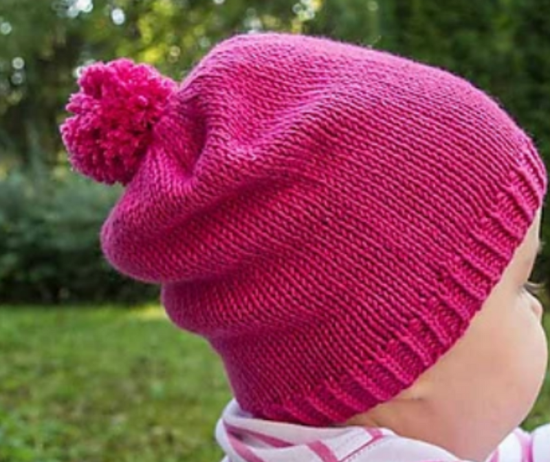 Knitting 301 - Beginner Hat