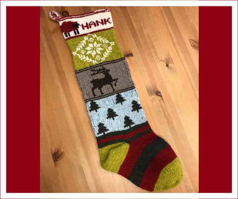 Fair Isle Holiday Stocking October 2018