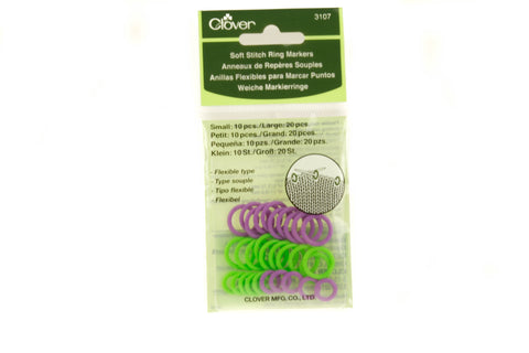 Clover Soft Stitch Ring Marker