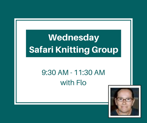 Wednesday Safari Knitting Group