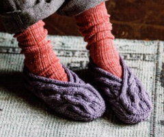 Knitted Slippers from Michiyo Mar 2019