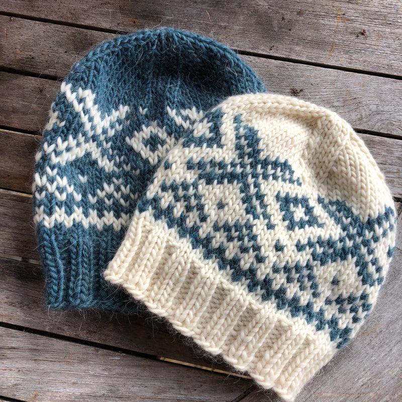 New Nordic Knitting - An Introduction to Norwegian Stranded Colour Work