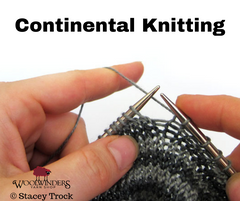 Continental (for Knitters) Annapolis Aug 2019