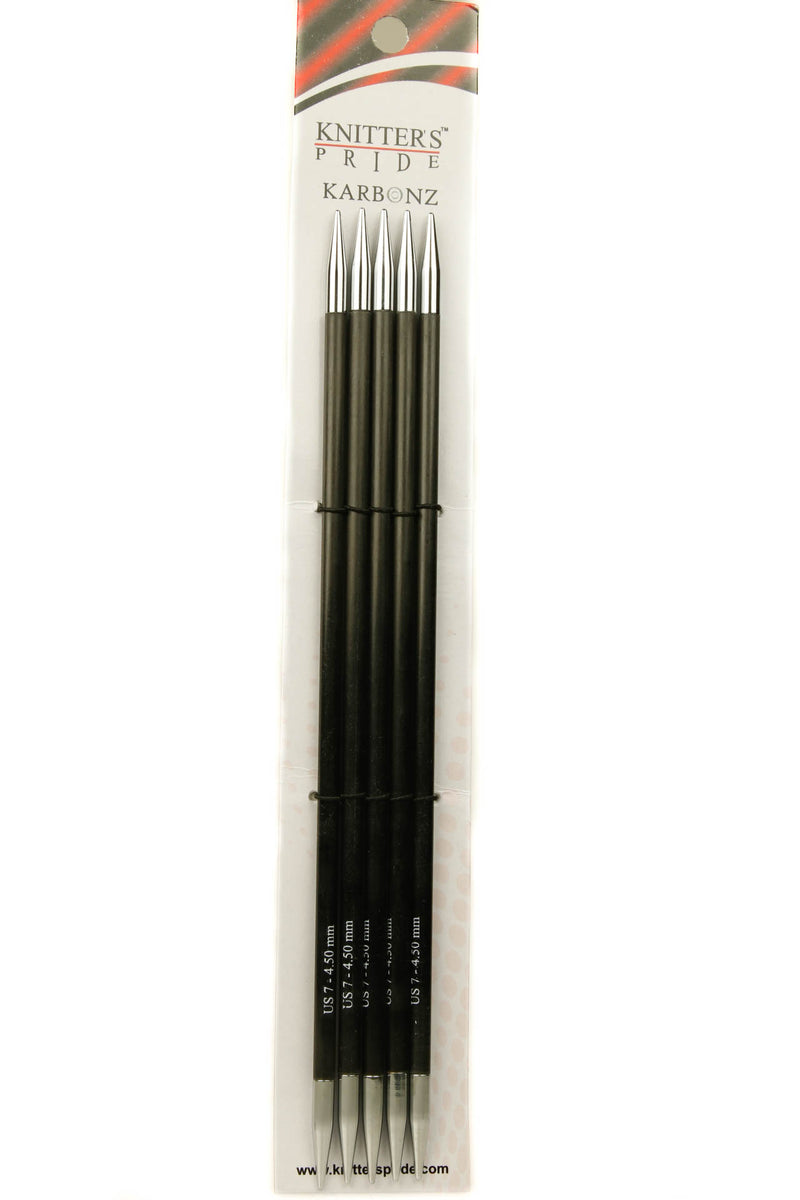 "Knitter's Pride Karbonz 6"" Double Point Needle"