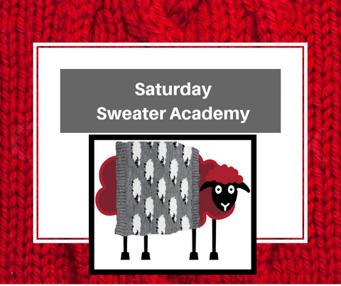 Saturday Sweater Academy