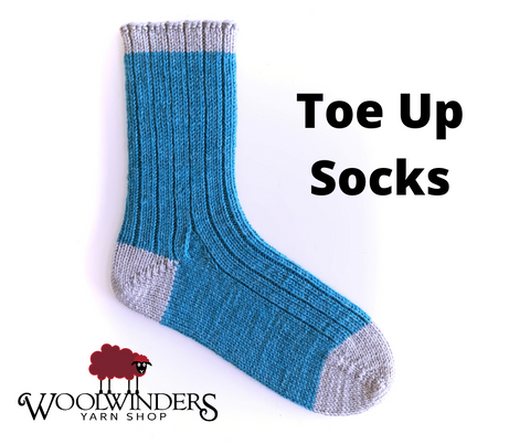 Toe Up Socks Jan 2020 Annapolis