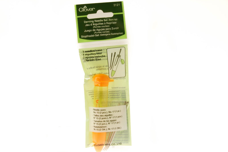 Clover Darning Needle Set (Bent Tip)